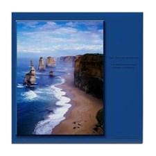 The Twelve Apostles Tile Coaster
