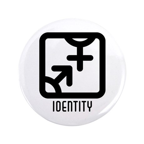 "Identity : Both 3.5"" Button (100 pack)"