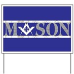 Masons Yard Sign