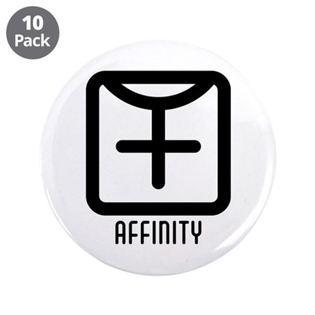 "Affinity : Female 3.5"" Button (10 pack)"