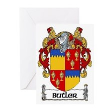 Butler Coat of Arms Greeting Cards (Pk of 20)