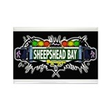 Sheepshead Bay (Black) Rectangle Magnet (10 pack)