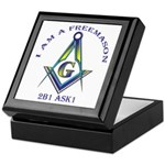 I am a Freemason Keepsake Box
