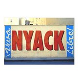 VIVA NYACK LIBRE POSTCARDS (Package of 8)