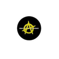 Anti-Gov't Mini Button (100 pack)