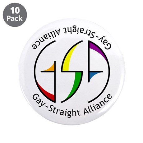 "GSA Spin 3.5"" Button (10 pack)"