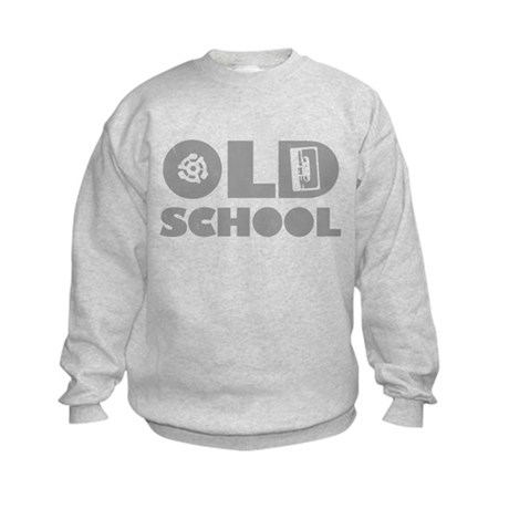 Old School (Distressed) Kids Sweatshirt