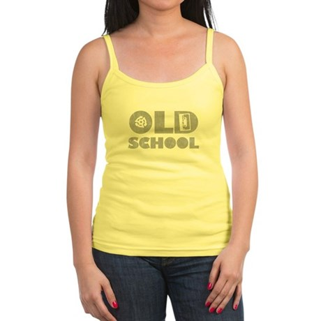 Old School (Distressed) Jr Spaghetti Tank