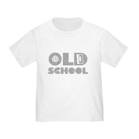 Old School (Distressed) Toddler T-Shirt
