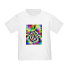 Bright Toddler Fractal T-Shirt