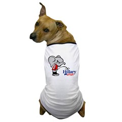 GOPee on Hillary Dog T-Shirt