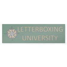 Letterboxing University Bumper Bumper Sticker