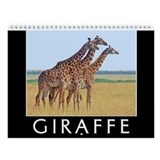 Giraffe Wall Calendars
