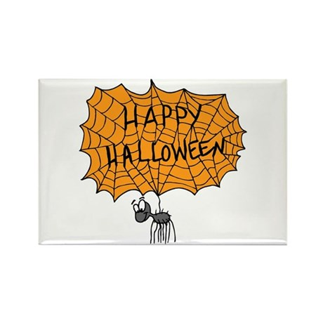 Happy Halloween Rectangle Magnet (10 pack)