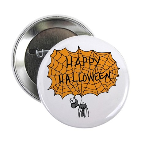 "Happy Halloween 2.25"" Button"