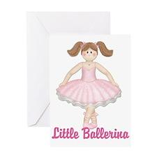 Little Ballerina 2 Greeting Card