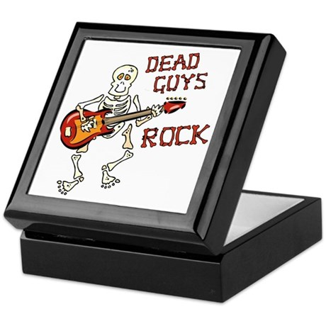 Dead Guys Rock Keepsake Box