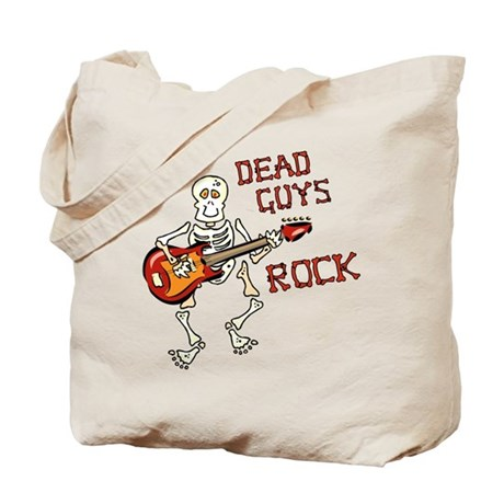 Dead Guys Rock Tote Bag