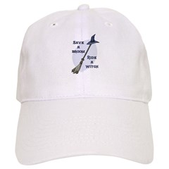 Ride a Witch Halloween Cap