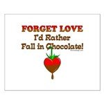 Chocolate Lovers Small Poster