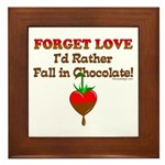 Chocolate Lovers Framed Tile