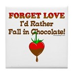 Chocolate Lovers Tile Coaster