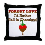 Chocolate Lovers Throw Pillow