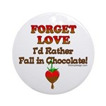Chocolate Lovers Ornament (Round)