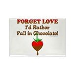 Chocolate Lovers Rectangle Magnet (10 pack)