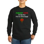 Chocolate Lovers Long Sleeve Dark T-Shirt