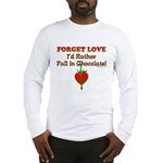 Chocolate Lovers Long Sleeve T-Shirt