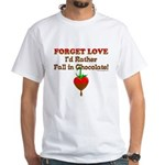Chocolate Lovers White T-Shirt
