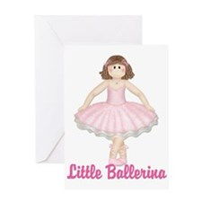 Little Ballerina 3 Greeting Card