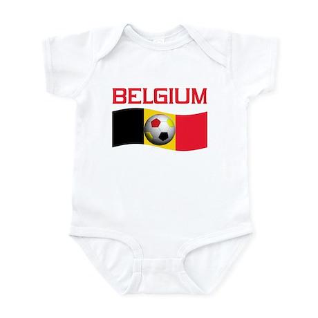 TEAM BELGIUM WORLD CUP SOCCER Infant Bodysuit