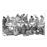 Skeleton Riders Postcards (Package of 8)