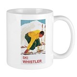 Ski Whistler BC Small Mug
