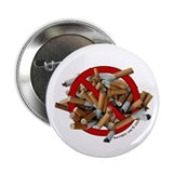 No Butts! 2.25&quot; Button (100 pack)