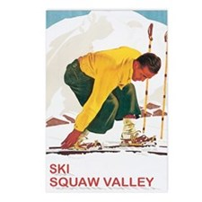 Ski Squaw Valley Postcards (Package of 8)