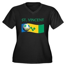 TEAM ST. VINCENT GRENADINES W Women's Plus Size V-
