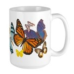 Beautiful Butterflies Large Mug