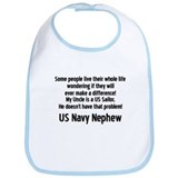 No Prob 4 Uncle Navy Neph Bib