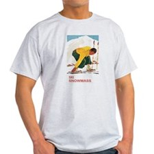 Ski Snowmass Colorado T-Shirt