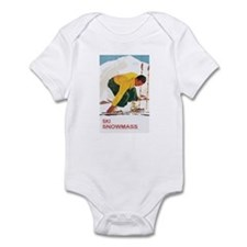 Ski Snowmass Colorado Infant Bodysuit