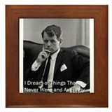 Cute Robert f kennedy Framed Tile