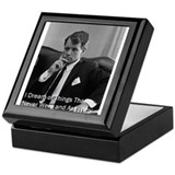 Cute Historical figures Keepsake Box