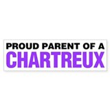 Proud Parent of a Chartreux Bumper Sticker