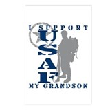 I Support My Grandson 2 - USAF Postcards (Package