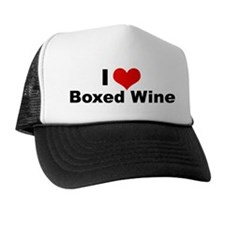 Boxed Wine Trucker Hat