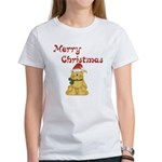 Merry Christmas Cat Women's T-Shirt