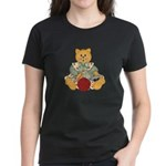 Dressed Up Kitty Women's Dark T-Shirt